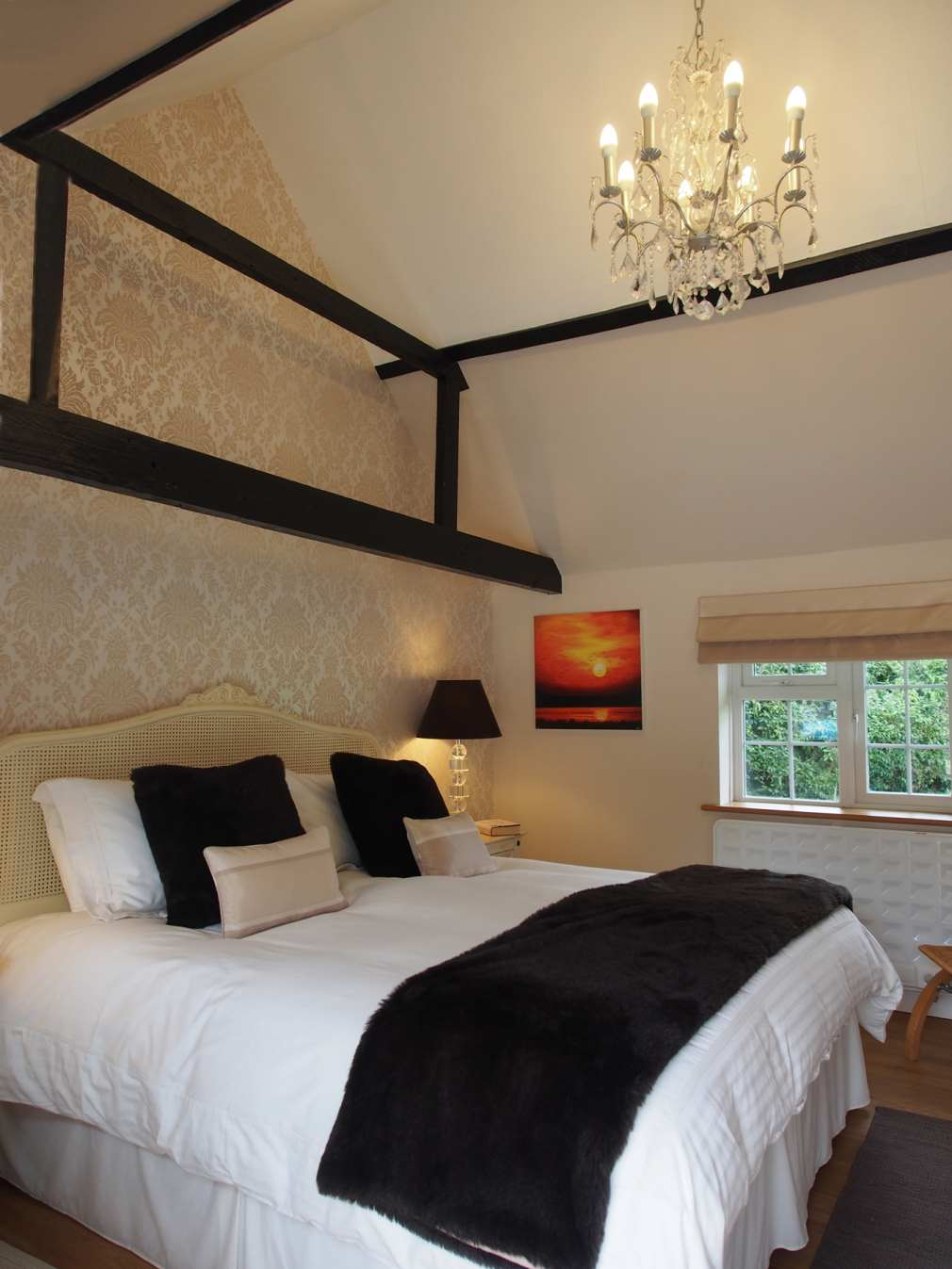 Master Bedroom Langton Lodge Luxury Hurstpierpoint Holiday Cottage